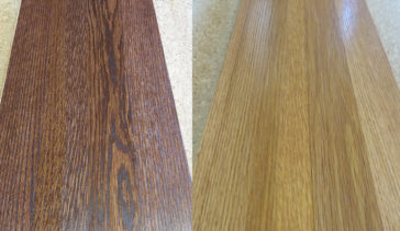 Dark stain vs light stain on white oak